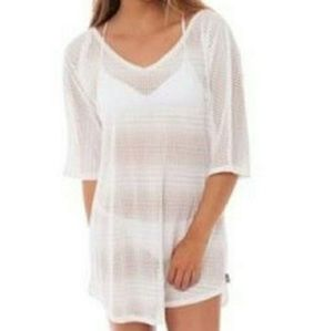 O'Neill White Swimsuit White Cover Up XL